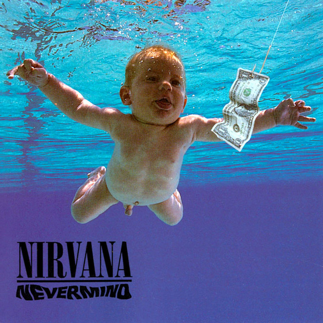 Cover Album Nevermind - Nirvana