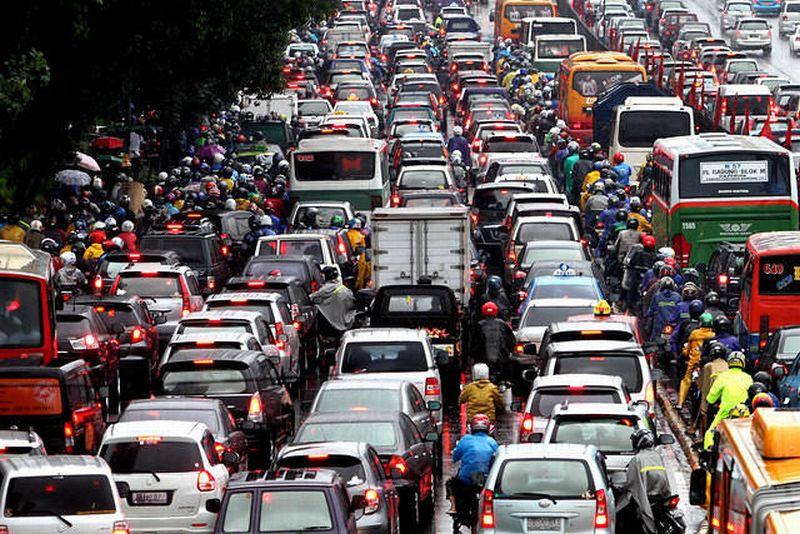 kemacetan di Jakarta 2017