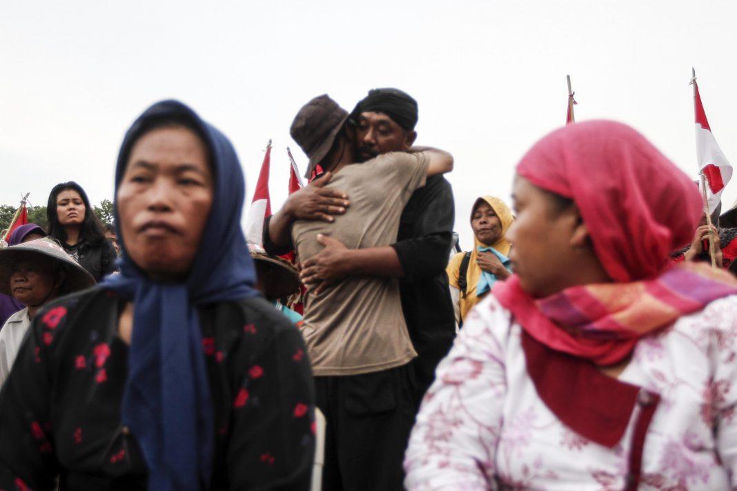 Ibu Patmi petani kendeng meninggal dunia