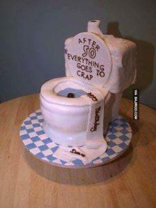 kue berbentuk kloset
