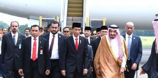 kunjungan raja arab saudi ke indonesia