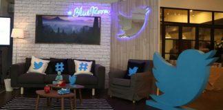 Blueroom, Kantor Twitter di Indonesia