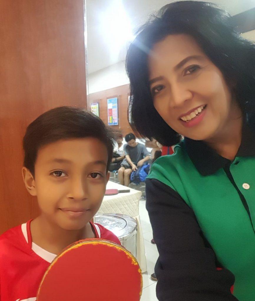 Atlet cilik M Daffa Rizky 12 tahun menjadi bintang di ajang turnamen