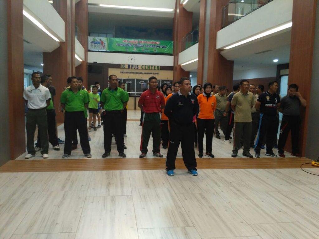 Komandan Upacara pembukaan Kapten Ckm Iwan Setiawan