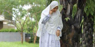 Baju Gamis Putih