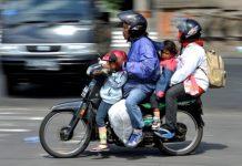 Pelanggaran lalu lintas sepeda motor