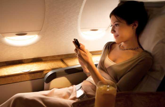 tips aman naik pesawat
