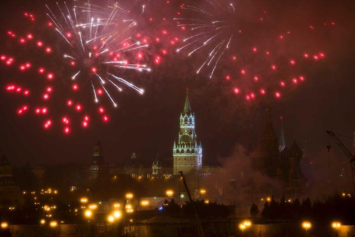perayaan tahun baru 2017 di moskow rusia