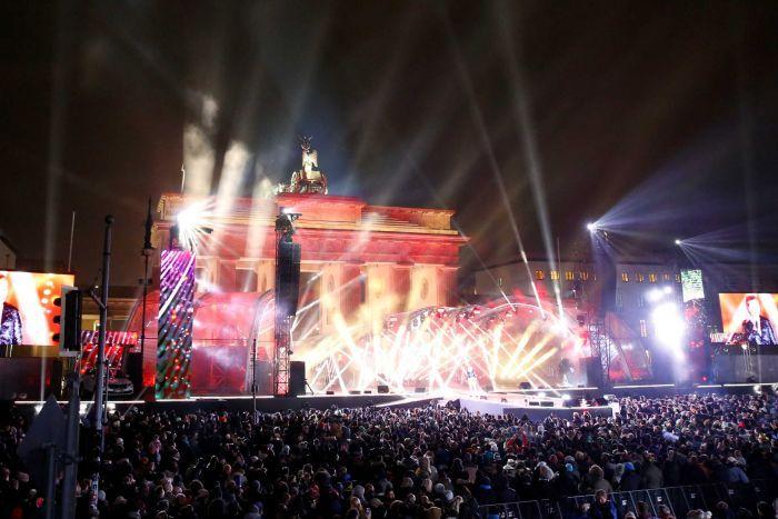 perayaan tahun baru 2017 di Jerman