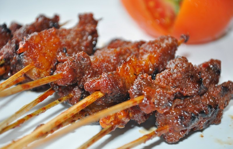 Sate Daging Rembiga Makanan Khas Lombok