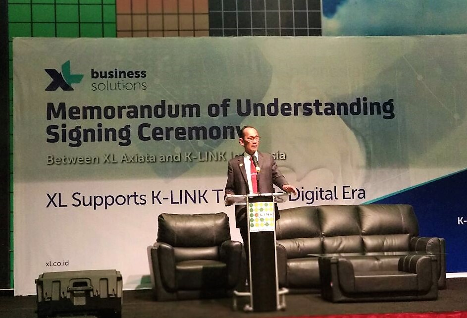 Presiden Direktur K-Link Indonesia