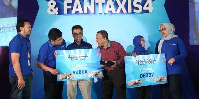 Pemenang Program Kuis Extravaganza dan Fantaxis sesi ke-4